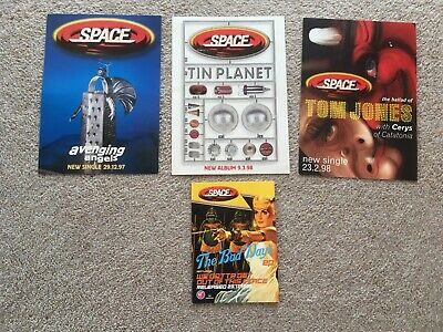 Space Promo Postcards 1997-1998 • 3£