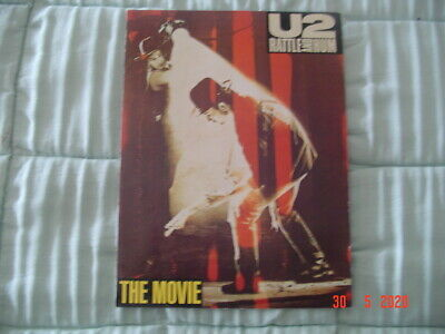 U2 Rattle And Hum  Publicity Pamphlet The Movie • 4.99£