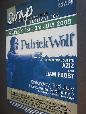 Original Concert Posters From Manchester University 2000-2013 • 10£