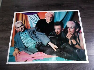 Depeche Mode Rock Poster 17.5  X 23  From Closed Down Record/head Shop • 9.93£
