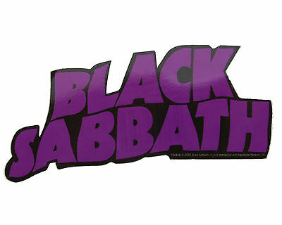 Official Black Sabbath Vinyl Sticker • 1.30£