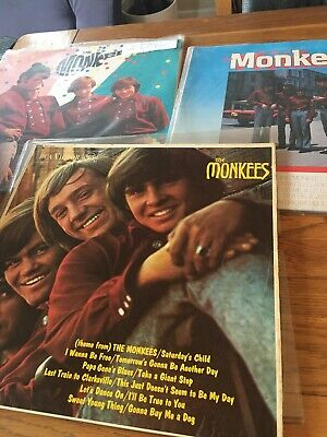 The Monkeys Vinyl Records • 5£