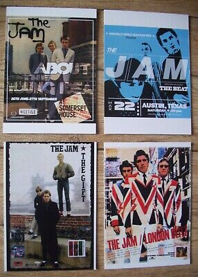 THE JAM  - Postcards Set Of 4 • 2.50£