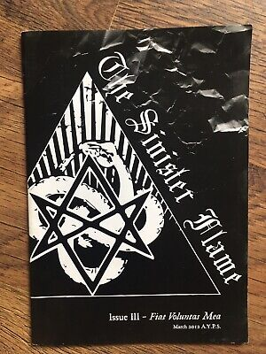 The Sinister Flame III WATAIN ALATAR OF PERVERSION DOMAINS SATANISM • 9.99£
