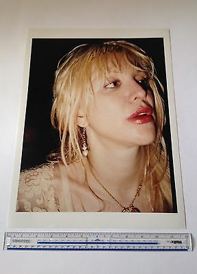 Courtney Love / Hole  C-type Colour Print 16 Inch X 12 Inch Hand Printed  • 105£