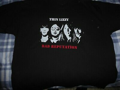 Thin Lizzy Bad Reputation All 4 T Shirt • 12£