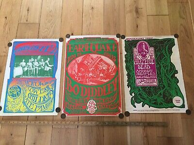 San Fransisco Poster Comapany Collection Grateful Dead, Bodiddley Posters   • 50£