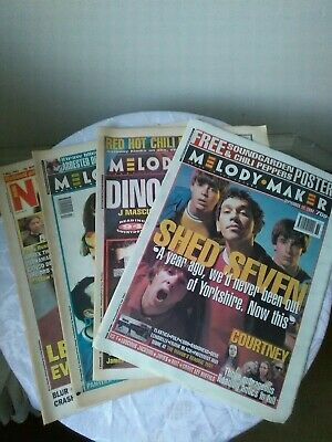 Melody Maker And NME Bundle - 4 Issues 1994 - Manics, Pulp, Lemonheads, Reading • 8£