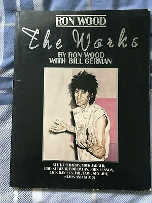 The Works Ron Wood Book • 3.99£