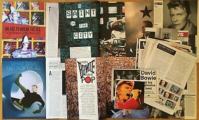 Collection Of David Bowie Clippings / Cuttings From Uk Magazines • 10£