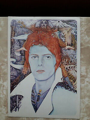 Bowie Ziggy George Underwood 1973 Card Rare • 13.99£