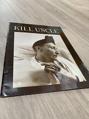 Rare OFFICIAL MORRISSEY KILL UNCLE 1991 US TOUR PROGRAMME Edith Sitwell • 9.99£