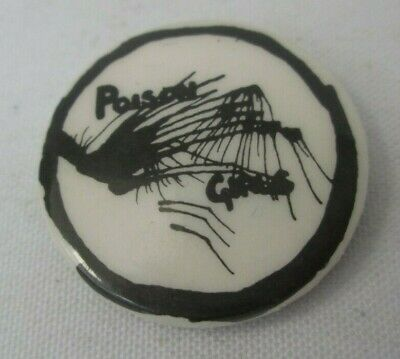 Poison Girls Vintage Original Early 1980s Badge Pin Button Anarcho Punk Crass • 12.50£