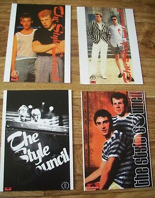 THE STYLE COUNCIL  - Postcards Set Of 4 • 2.50£