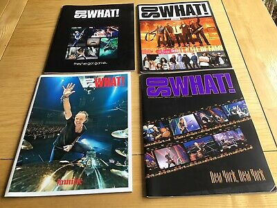 So What Metallica Club Vol.16 No. 1,2,3,4 2009 • 5.99£
