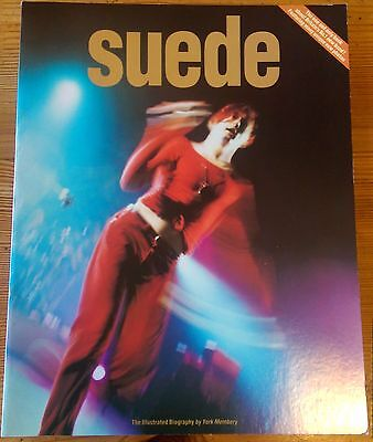 Suede, The Illustrated Biography By York Membery, VERY RARE Book From 1993. • 100£