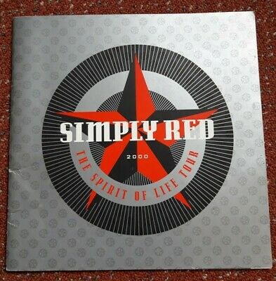 Simply Red 2000 Concert Programme  • 4.99£