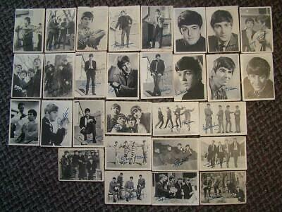 BEATLES A & B.C Gum Cards. 1st Series 1964. 29 Different Cards Of 60 • 9.99£