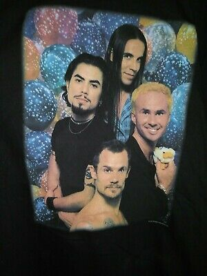 RED HOT CHILI PEPPERS 1995 One Hot Minute Vintage Licensed Concert Shirt XL • 259.40£