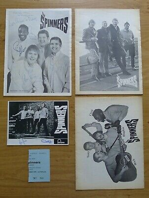 The Spinners Concert Programmes • 6£