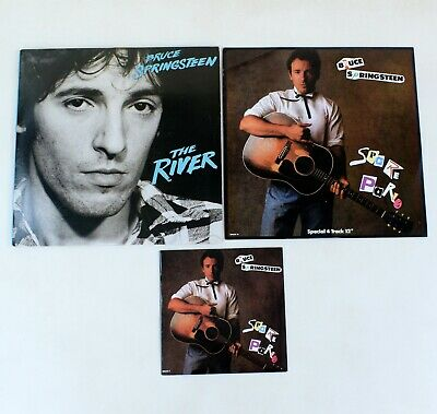 Bruce Springsteen - The River Double Vinyl LP With Spare Parts 12  & 7  Singles • 9.99£