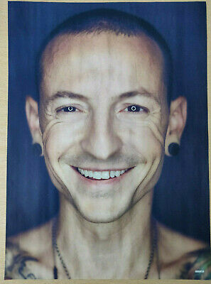 Chester Bennington / Linkin Park - Full-Page Magazine Picture - RARE! • 3.95£
