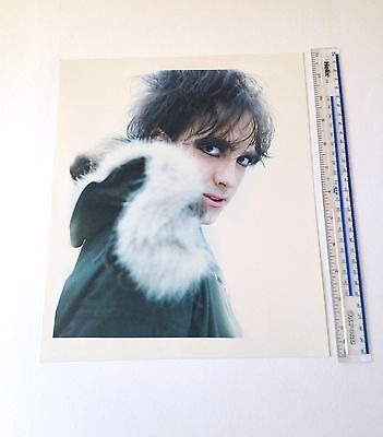 Robert Smith  The Cure   4 X C-type Prints   10 X 12 Inch   Hand Printed • 325£