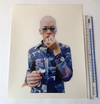 Michael Stipe / REM C-type 14 Inch X 11 Inch Hand Printed Colour Photograph • 120£