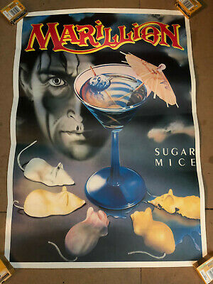 Marillion Promo Poster - Sugar Mice • 15£