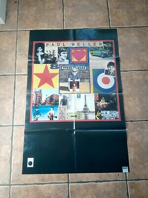 Goldie / Paul Weller (timeless/stanley Road) Double Sided Huge Poster • 9.99£