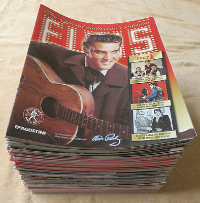 Elvis Presley - The Official Collector's Edition - DeAgostini - All 90 Magazines • 39.95£