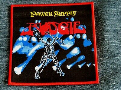 Budgie Power Supply Woven Patch • 6£