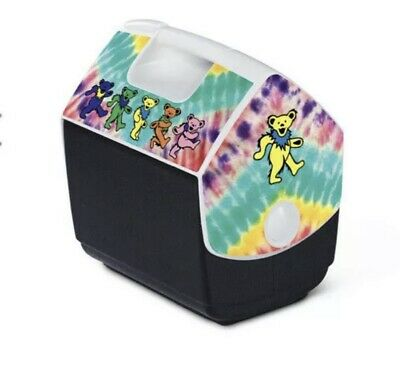 Grateful Dead Igloo Cooler LIMITED EDITION DANCING BEARS Brand New Fast Shipping • 44.41£