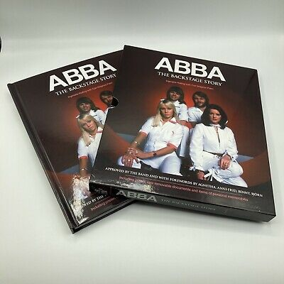 Abba The Backstage Story Ingmarie Halling With Carl Magnus Palm With Slipcase • 19.95£
