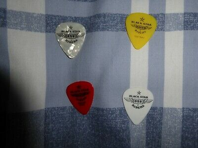 Black Star Riders Set Of 4 Plectrums/picks • 20£