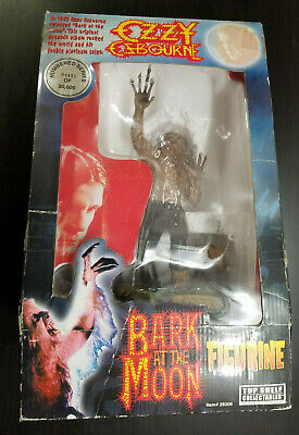 """2002 Top Shelf Collectibles Bark At The Moon Ozzy Osbourne 11.5"""" Tall Figurine • 94.45£"""