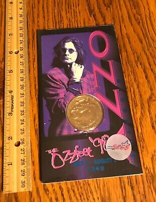 Ozzy Osbourne/ Coin/ SEALED/ The Ozz Fest/ 1998/ Monowise/ Liberty Mint/ Awesome • 78.70£