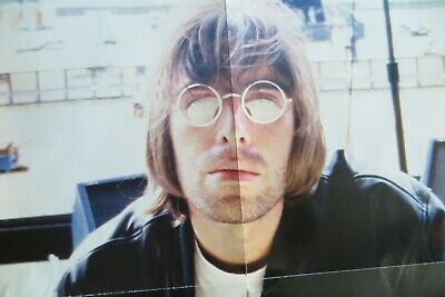 NME Oasis/ Liam Gallagher Poster At Biggest Ever Gig, Knebworth, 1996, 92x61cm • 15£