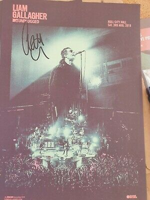Liam Gallagher SIGNED & Limited Edition Posters! Free P&P • 69£