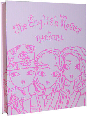 MADONNA  - THE ENGLISH ROSES SIGNED  DELUXE 1st EDITION BOOK BOX SET • 295£