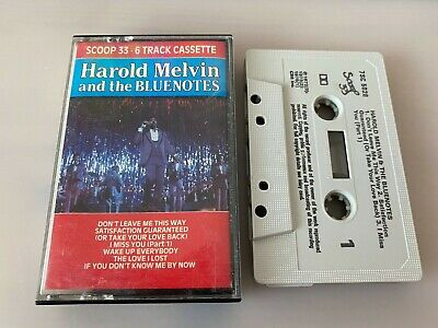 Harold Melvin And The Blue Notes-scoop 33-6 Track Cassette • 7.99£
