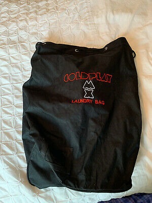 Coldplay Large Laundry Bag - Tour Crew Issue • 7.99£