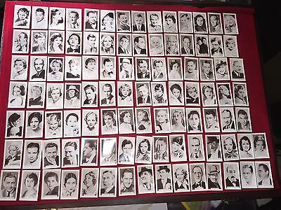 1936 Facchino Cinema Stars All 100 Cards Mint Excellent Movie Trading Cards • 829.49£