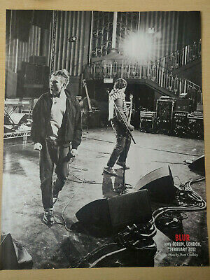 BLUR - Double-sided NME Magazine Poster / Picture 2012 - RARE! • 4.95£