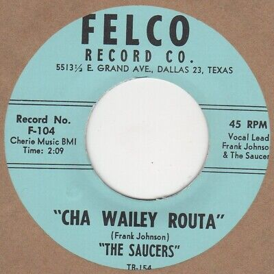 Saucers Cha Wailey Routa Felco Soul Northern Motown • 30£