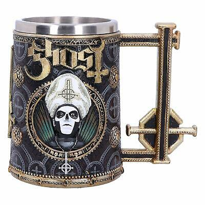 Nemesis Now B4857P9 Ghost Papa Emeritus III Meliora Gold Tankard DAMAGED OUTER • 34.99£