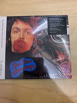 Paul Mccartney Red Rose Speedway 2CD Deluxe Sealed. • 10.99£
