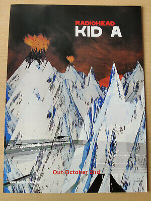 RADIOHEAD 'Kid A' - Full Page Magazine Advert Picture 2000 - RARE • 5.25£