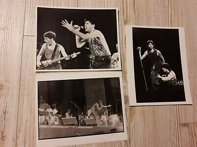 Boomtown Rats, 3 X Promotional Press Photo • 10£