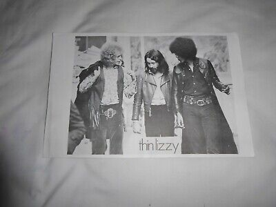 Thin Lizzy Early 70`s Poster 37cm X 24cm • 25£
